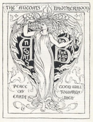 Illustration for the Ancoats Brotherhood by Walter Crane