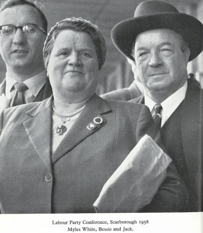 Bessie Braddock and her husband Jack