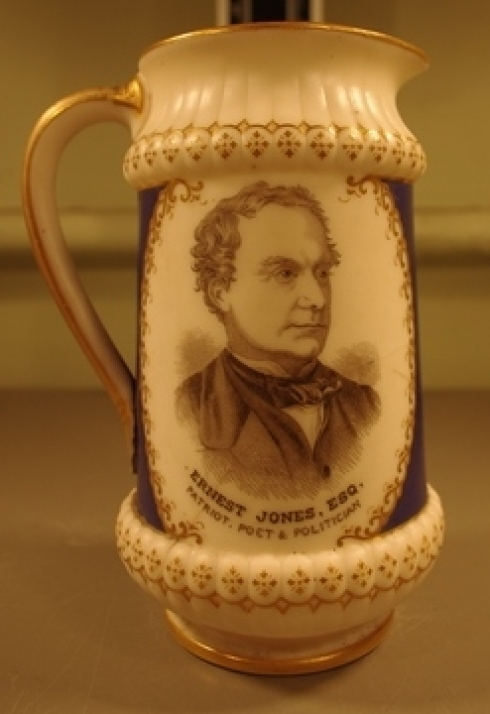 ernest jones commemorative mug