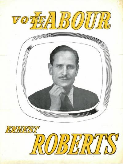 Ernie Roberts election leaflet