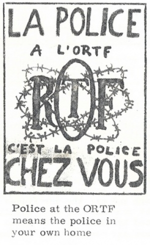 revolution posters from strike in France in May 1968