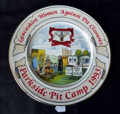 Lancashire Women Against Pit Closures, Parkside Pit Camp plate