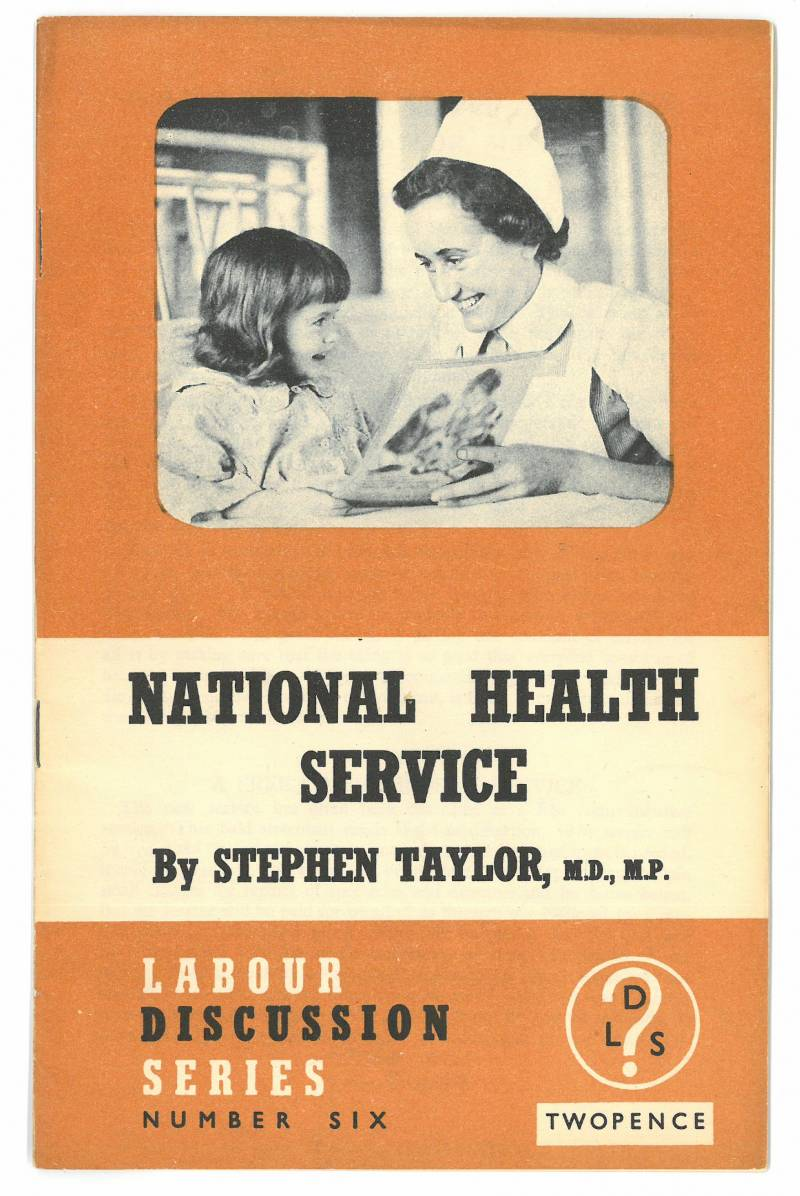 NHS pamphlet cover