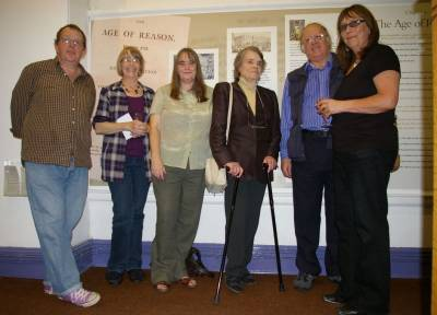 Thomas Paine exhibtion launch