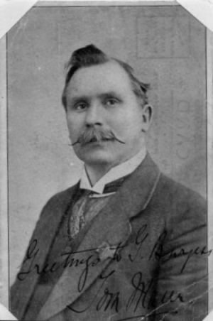 Tom Mann : Photograph of Tom Mann taken in 1920