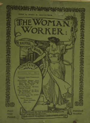 woman worker cover