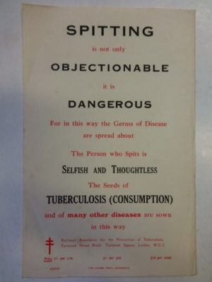 national association for the prevention of tuberculosis leaflet