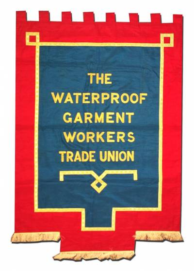 Waterproof Garment Workers Trade Union banner