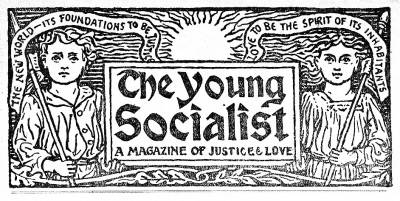Header from The Young Socialist published by the National Council of British Sunday Schools
