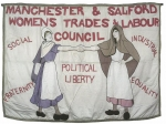 Poster: Manchester and Salford Women's Trades and Labour Council